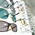 Health care, eyesight and vision concept. A wide choice of frames instore.